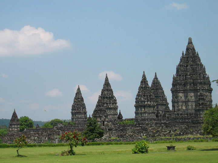 Prampanan temple in Yogjakarta